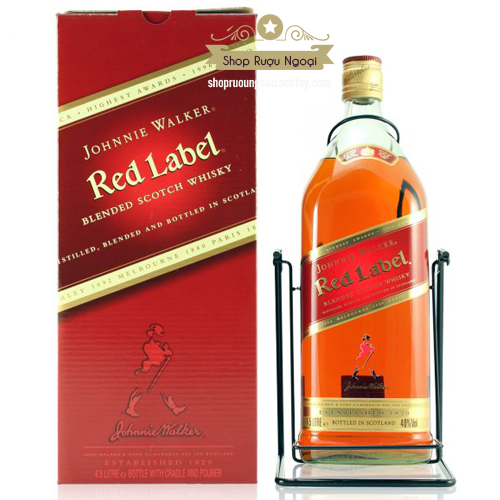 Rượu Johnnie Walker Red 3 Lít - shopruoungoaixachtay.com